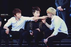 Sungmin and Eunhae. Lol pay attention to me!