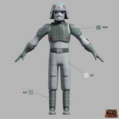 Learn the correct shades and hues for your Star Wars Rebels Imperial costumes -- straight from the show's creators.