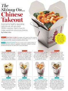 The Skinny on Chinese Takeout