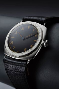 """3646 watcheswith dodecagonal (12-sided) bezels bearing""""Officine Panerai – Brevettato"""" engravings are/were believed to be the early prototypes, specifically produced for demonstr…"""