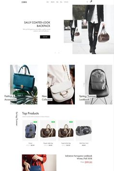 """Coro is a clean, minimal, creative and modern eCommerce theme for WordPress platform. Powered by WordPress' most popular eCommerce platform """"WooCommerce"""", Coro can be the too Ecommerce Web Design, Wordpress Theme Design, Web Design Services, Ecommerce Platforms, Landing Page Design, Creative Portfolio, Website Themes, Website Design Inspiration, Website Template"""