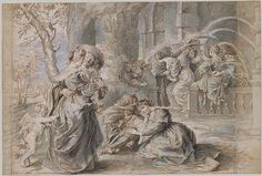 Peter Paul Rubens (Flemish, 1577–1640). The Garden of Love, n.d. The Metropolitan Museum of Art, New York. Fletcher Fund, 1958 (58.96.1,.2)