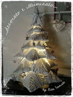 OMG! perhaps use old magazine pages, rolled and painted, to make this?