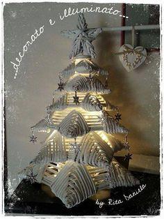 #Christmas #tree #woven