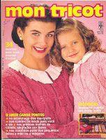 Revista Mon Tricot: Mon Tricot 109 - Maio 1989