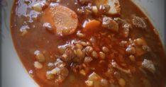 Az egyik kedvenc levesem, imádom :) Szoktam sima disznóhússal és füstölt csülökkel is készíteni, mikor melyikhez van kedvem. Mindegyik ve... Chili, Soup, Chile, Chilis, Soups, Chowder