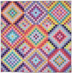 Bright Squares Quilt -- Kaffe Fassett