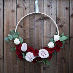 WOW, These DIY Floral Hoops Are Simply Gorgeous!