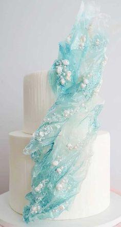 Elegant Birthday Cakes, Pretty Birthday Cakes, Elegant Cakes, Pretty Cakes, Luxury Wedding Cake, Beautiful Wedding Cakes, Beautiful Cakes, Paper Cake, Cake Art