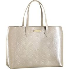 Louis Vuitton M91441 Handbag Wilshire MM Blanc Corail