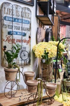 #Life is like riding a bicycle, to keep your balance you must keep moving... #interior  #design #home