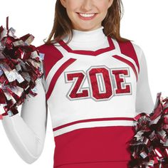 Sweetheart Cheerleading Uniform Shell Top by Zoe Cheer