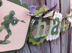 ARMY Men Camo HAPPY BIRTHDAY banner on Etsy, $32.52 CAD Military Party, Army Party, Happy Birthday Banners, 5th Birthday, Godzilla Birthday Party, Baby Shower Camo, Camo Baby Stuff, Party Games, Party Planning