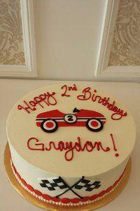 Vintage Car Cake Classic BelAir car cake Birthday Cakes jm