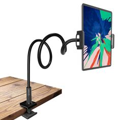 Cellet Gooseneck Tablet & Smartphone Desktop Mount with Spring Grips on eBid United States Tablet Holder, Tablet Stand, Cell Phone Holder, Phone Stand, Ipad Mount, Phone Mount, All Smartphones, Cell Phone Accessories, Aesthetic Yellow
