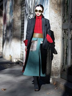 The Freshest Street Looks From Men's Fashion Week via @WhoWhatWearUK