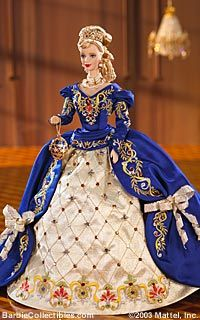 1997 Barbie Fabergè Imperial Elegance Barbie® | Fabergè Porcelain Barbie Collection *PORCELAIN