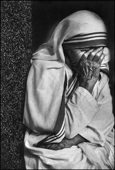 Magnum Photos Home - sometimes things got too much, even for Mother Theresa
