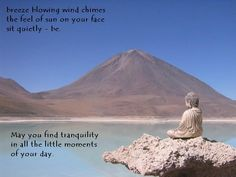 | May your life filled with tranquility and energy...