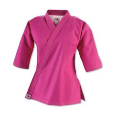 Wish I could rock the pink gi in karate class...