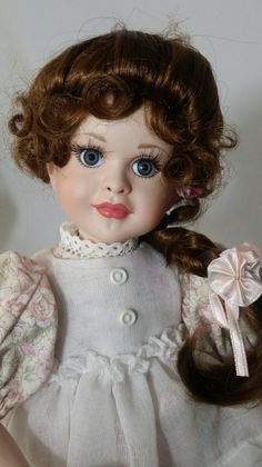 """Marie ~ Haunted Porcelain Doll ~ 12"""" ~ Paranormal ~ Sweet Girl ~ Angel Aura ~ Young Death ~ Love & Light by FugitiveKatCreations on Etsy"""
