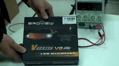Broview V8 9005(HB3 H10) LED Headlight Bulbs Conversion Kit Introduction