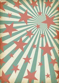 stars and stripes Ipod Wallpaper, Handy Wallpaper, Pattern Wallpaper, Circus Art, Circus Theme, Circo Vintage, Retro Vintage, Vintage Prints, Circo Do Mickey