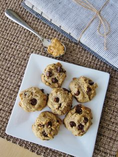 #GlutenFree Peanut Butter Chocolate Chip Cookies. These will make you're kitchen smell amazing!