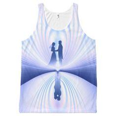 #bride - #Wedding Couple All-Over-Print Tank Top