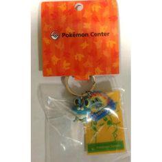 Pokemon Center 2014 Froakie Pokedoll Shopper Keychain