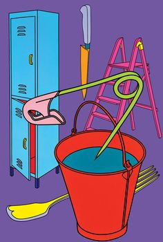The official website for Michael Craig-Martin James Rosenquist, Michael Craig, Claes Oldenburg, Ligne Claire, Wall Drawing, A Level Art, Gcse Art, Everyday Objects, Grafik Design