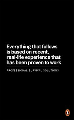 Everything that follows is based on recent, real-life experience that has been proven to work by James Shepherd Barron