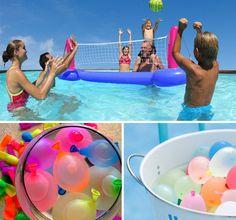 FESTA NA PISCINA - Dicas de como organizar e mostar uma festa na piscina perfeita, gastando pouco. Decoração, bebidas e comidas.