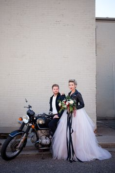 Edgy industrial wedding ideas