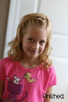 tips and tutorials for little girl hair styles