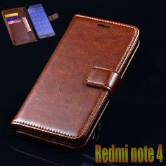 מקרה flip עור יוקרה כיסוי xiaomi redmi note 4 פרו טלפון שקיות עבור xiaomi redmi note 4 ארנק עסקי מקרה שקיות טלפון כיסוי