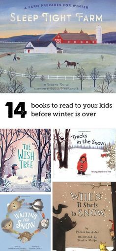 When the holiday season is over, it's the perfect time to read these books about winter with your kids. Awesome list!