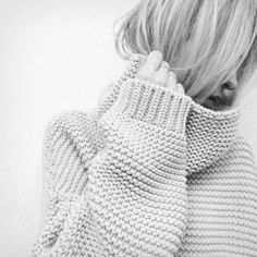 Zara Garter Stitch Sweater