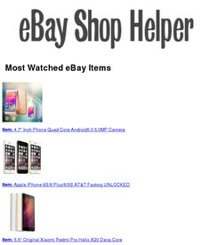 2017-05-10 16:29:42.107898 eBay eBayMostWatched SmallBiz BigData