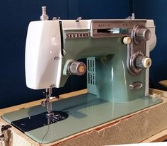 Vintage Japanese Janome New Home Simplicity Sewing Machine