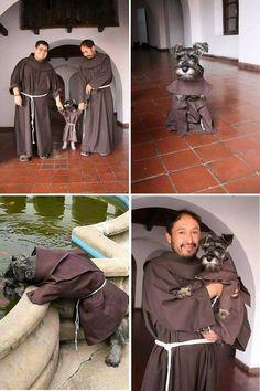 ...this Brazilian Dog Monk.