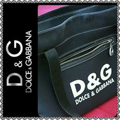 Dolce & Gabbana Bag Authentic D&G Large Black Bag, Ideal for use as laptop bag, or as travel companion. Two Separate Zip Compartments, Ready for next owner! Worn but Will accept best offer. Good Condition Dolce & Gabbana Bags Shoulder Bags