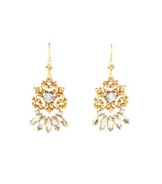 Tom Binns Gold Rokoco Earrings #tiffany cheap tiffany jewelry online