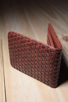 Porta Cartão Tressê Caramelo - Ideal para organizar seus pertences com muito estilo.
