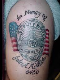 911 dispatcher tattoos law enforcement tattoo tattoo for New tattoo laws