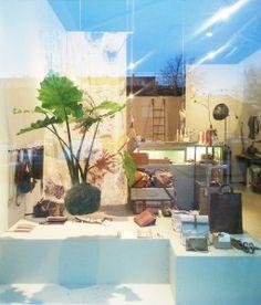 Olga Korstanje - shopping window Windows, Plants, Shopping, Window, Planters, Plant, Ramen, Planting