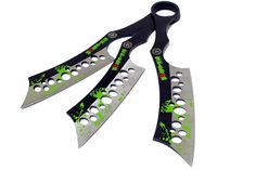 Set of 3 All Zombie-War Throwing Knives with Sheath