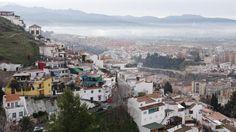 GRANADA | CENTRO | Mirador. Casas del Barranco del Abogado y parte del distrito Genil.