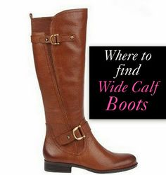 Fall Winter 2014-2015 Wide Calf Boots Line Up! Wide shaft, extra ...