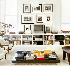 Small Space Tips // Living Room // Photographer Jacques Dirand // Domino: The Book of Decorating